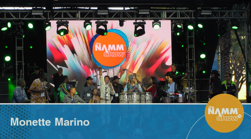 Hundreds of artists from nearly every imaginable musical genre gathered to perform on five NAMM Show stages during the 2016 NAMM Show in Anaheim, meeting with nearly 100,000 other members of the music industry.